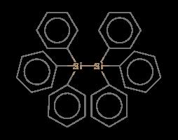 Disilane, hexaphenyl-