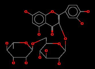 Flavone-3-rutinoside, 3,3',4',5,7-pentahydroxy