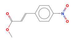 P-nitro cinnamic acid, methyl ester