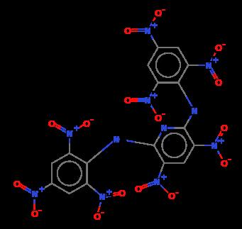 2,6-Pyridinediamine, 3,5-dinitro-N,N'-bis(2,4,6