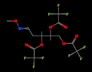 diagram of ribose deoxy 2 deoxy d ribose  tris trifluoroacetate   methyloxime  isomer 2   2 deoxy d ribose  tris trifluoroacetate