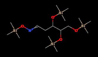diagram of ribose deoxy 2 deoxy d ribose  tris trimethylsilyl  ether  trimethylsilyloxime  2 deoxy d ribose  tris trimethylsilyl